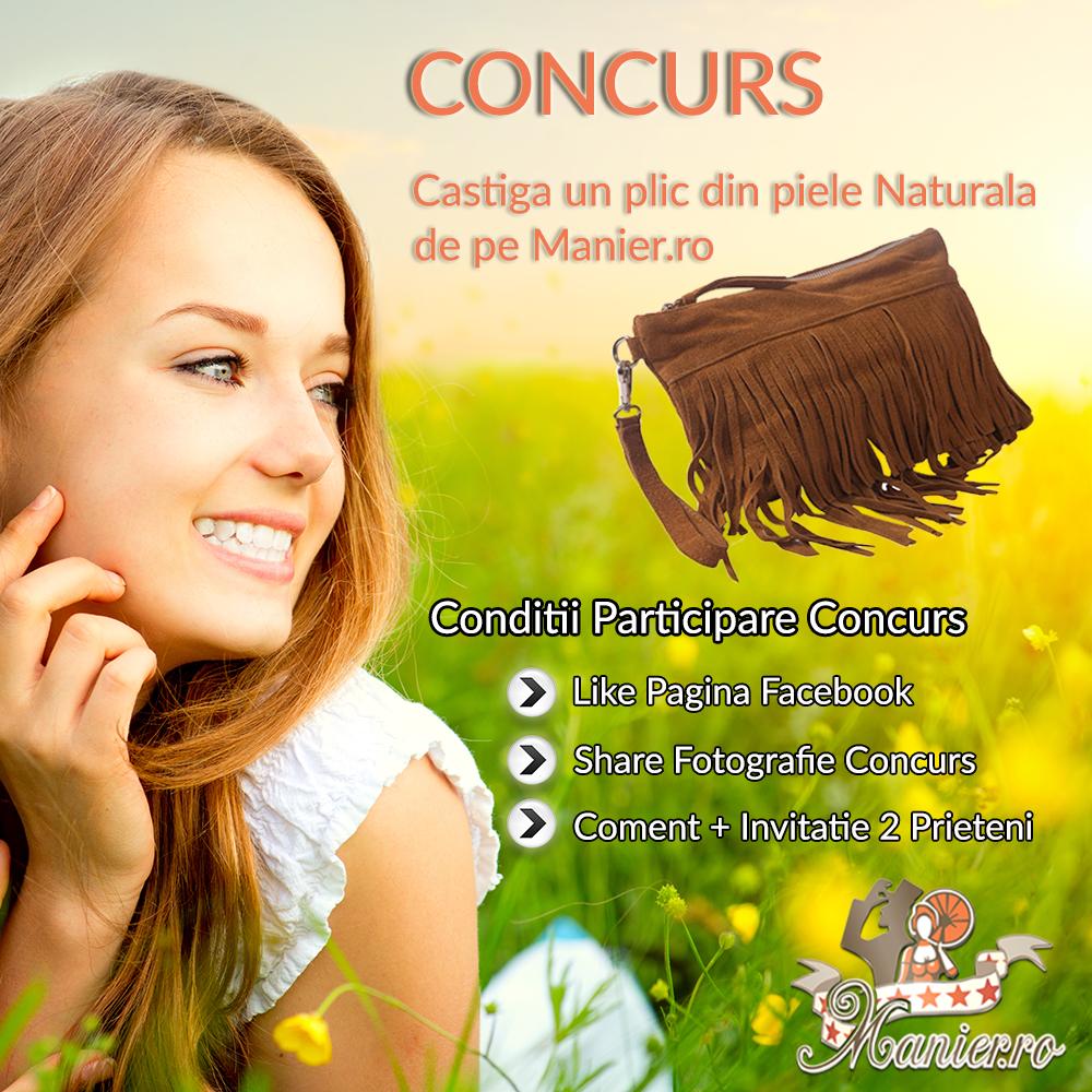 Concurs: castiga un plic de piele de pe www.manier.ro