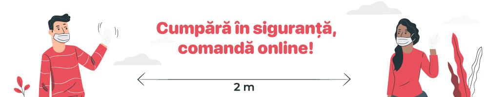 Online, comandă în siguranță!