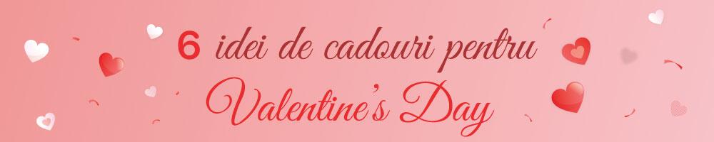 6 idei de cadouri pentru Valentine's Day